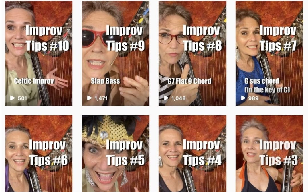 Ten 30-Second Improv Tips from my Instagram feed