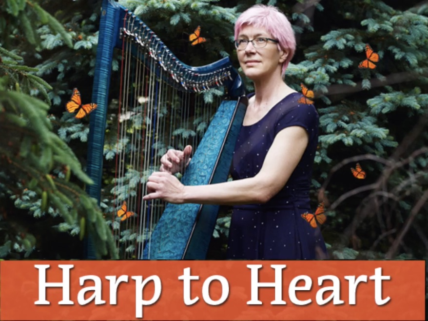 """Charlene Elderkin's New """"Harp to Heart"""" Show"""