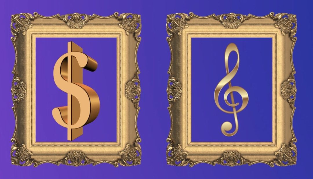 Money … or music? (How to Fund your Creative Growth)